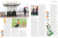 JAMES BOARDMAN / 07967642437.Luke Wright feature - Cutting from the Cricketer December 2012