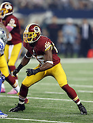 Washington Redskins wide receiver Pierre Garcon (88) goes out for a pass during the NFL week 6 football game against the Dallas Cowboys on Sunday, Oct. 13, 2013 in Arlington, Texas. The Cowboys won the game 31-16. ©Paul Anthony Spinelli