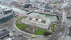 Aerial JPGs along the Liffey 3-4-20