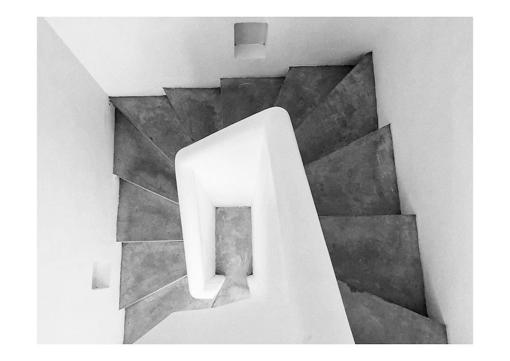 Stairs. Sri Lanka. Architect Geoffrey Bawa.