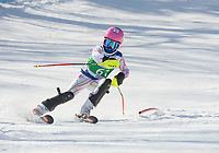 Piche Invitational Paul Ladouceur Championship slalom U12 girls  1st run.    ©2019 Karen Bobotas Photographer