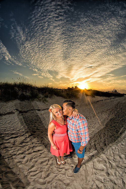 Daniel and Catherine Engagement | Atlantic Beach NC Photographers