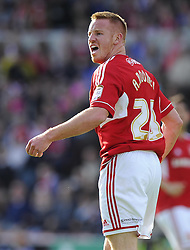 Swindon Town's Adam Rooney - Photo mandatory by-line: Joe Meredith/JMP - Tel: Mobile: 07966 386802 04/05/2013 - SPORT - FOOTBALL - County Ground - Swindon - Swindon Town v Brentford - Npower League one Play Off