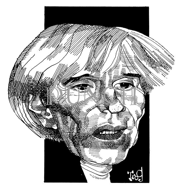 (Portrait of Andy Warhol)