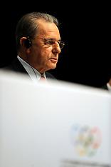 20091005 IOC Session - pressemøde med IOC Præsident Jacques Rogge