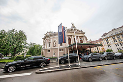 Cars of Avto Aktiv during SPINS XI Nogometna Gala 2019 event when presented best football players of Prva liga Telekom Slovenije in season 2018/19, on May 19, 2019 in Slovene National Theatre Opera and Ballet Ljubljana, Slovenia. Photo by Vid Ponikvar / Sportida