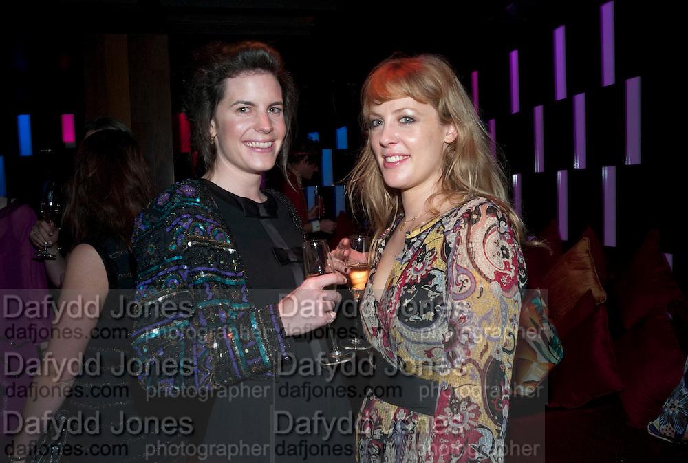 LADY LAURA CATHCART; EMMA WIGAN, The Tatler Little Black Book party. Chinawhite club. London. 21 November 2009