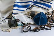 Teffilin, Talith and Sidur for Jewish ritual