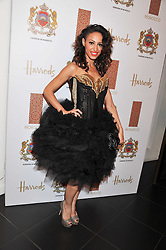 Singer AMELLE BERRABAH from the Sugababes at the Inspiring Morocco launch held at Harrods, Knightsbridge, London on 3rd November 2011.