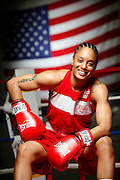 6/24/11 2:41:05 PM -- Colorado Springs, CO. -- A portrait of U.S. Olympic lightweight boxer Queen Underwood, 27, of Seattle, Wash. who will be competing for her fifth title. She began boxing in 2003 and was the 2009 Continental Champion and the 2010 USA Boxing National Champion. She is considered a likely favorite to medal at the 2012 Summer Olympics in London as women's boxing makes its debut as an Olympic sport. -- ...Photo by Marc Piscotty, Freelance.