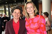 Premiere van Gurre-Lieder in de Nationale Opera & Ballet / Premiere of Gurre-Lieder in the National Opera & Ballet.<br /> <br /> Op de foto / On the photo:   Kajsa Ollongren en partner Irene van den Brekel
