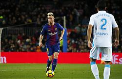 December 17, 2017 - Barcelona, Catalonia, Spain - Ivan Rakitic during the La Liga match between FC Barcelona v Real Club Deportivo de La Coruna, in Barcelona, on December 17, 2017. (Credit Image: © Joan Valls/NurPhoto via ZUMA Press)
