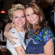 NLD/Laren/20130318 - Uitreiking Nannic Awards 2013, Mariska van Kolk en Leontien Borsato