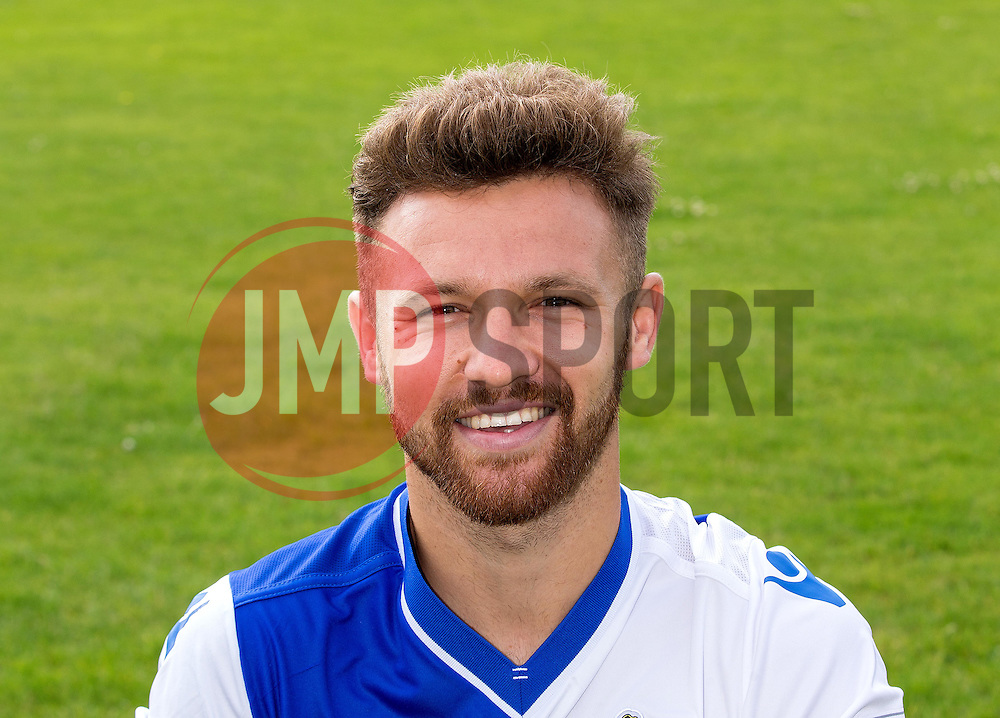 - Mandatory by-line: Robbie Stephenson/JMP - 04/08/2016 - FOOTBALL - The Lawns Training Ground - Bristol, England - Bristol Rovers Head Shots