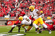 Arizona State University beats University of Utah 35 to 14.  The Game took place at Utah October 8, 2011.  ..Photo by: Nathan Sweet