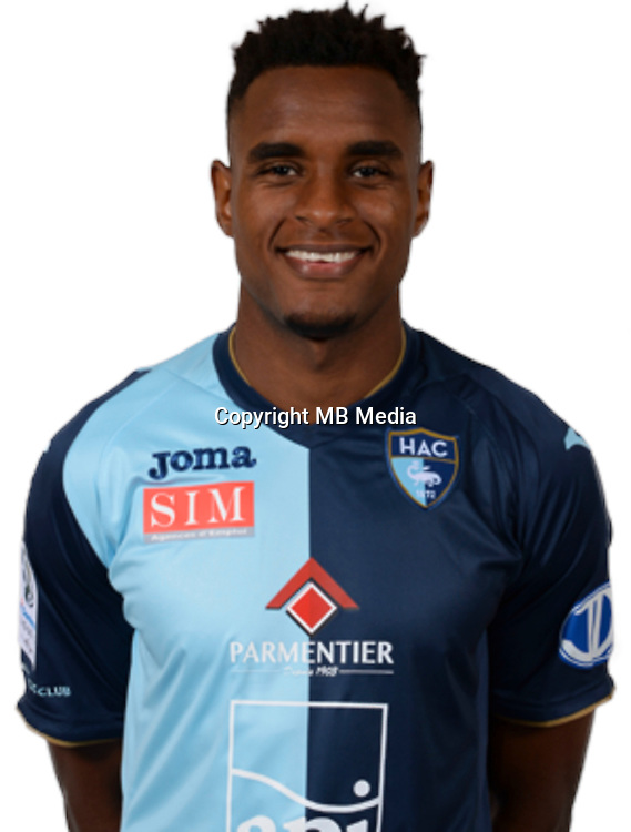 FORTES Steven during photocall of Le Havre AC for new season of Ligue 2 on September 29th 2016<br /> Photo : Lelaidier / Hac / Icon Sport