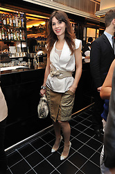 LARA BOHINC at a brunch hosted by Zac Posen to launch the Belvedere Bloody Mary Brunch held at Le Caprice, 25 Arlington Street, London on 7th April 2011.
