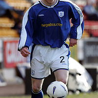 St Johnstone FC...2004-05<br />Mark Baxter<br /><br />Picture by Graeme Hart.<br />Copyright Perthshire Picture Agency<br />Tel: 01738 623350  Mobile: 07990 594431