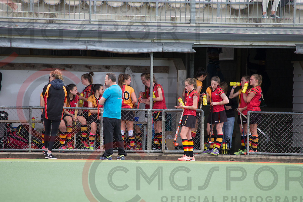 HARBOUR V WAIKATO<br /> U15 PREMIER GIRLS HOCKEY<br /> NORTH HARBOUR STADIUM<br /> Alana Warrington CMGSPORT<br /> &copy;cmgsport2017