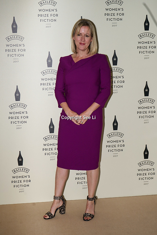 London,UK. 7th June 2017. JoJo Moyes attends a photocall The Baileys Prize for Women's Fiction Awards 2017 at the The Royal Festival Hall, Southbank Centre. by See Li