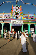 The entrance to the Nagore Dargah shrine.