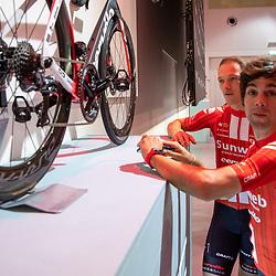 10-12-2019: Wielrennen: Teampresentatie Sunweb: Amsterdam <br />Michael Matthews