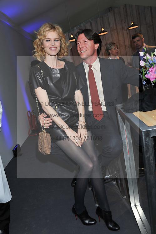 EVA HERZIGOVA and GREGORIO MARSIAJ at the Vogue Festival 2012 in association with Vertu held at the Royal Geographical Society, London on 20th April 2012.