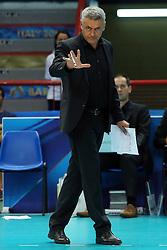 Belgium head coach Gert Vande Broek