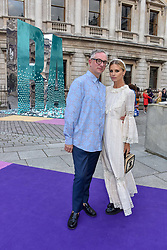 Laura Bailey and Giles Deacon at The Royal Academy of Arts Summer Exhibition Preview Party 2019, Burlington House, Piccadilly, London England. 04 June 2019. <br /> <br /> ***For fees please contact us prior to publication***
