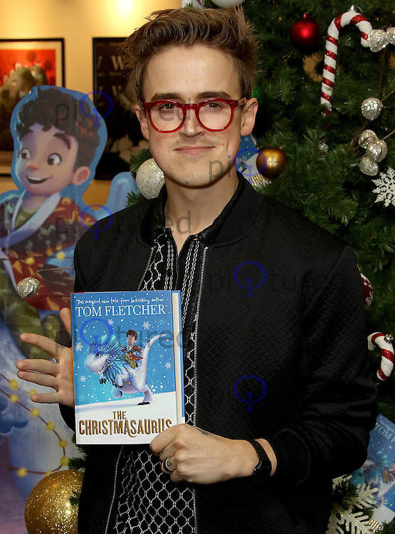 Tom Fletcher: The Christmasaurus - Book Signing, Waterstones Piccadilly, London UK, 08 October 2016, Photo by Brett D. Cove