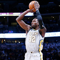 07 March 2018: Cleveland Cavaliers forward Jeff Green (32) takes a jump shot during the Cleveland Cavaliers 113-108 victory over the Denver Nuggets, at the Pepsi Center, Denver, Colorado, USA.