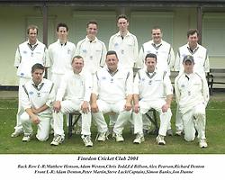 Finedon Dolben Cricket Clob 2004 Cricket Cricket