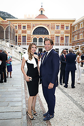 June 19, 2017 - Monaco, Monaco - 57th Monte-Carlo Television Festival cocktail at the Palace of Monaco. Michael Weatherly and Bojana Jankovic. (Credit Image: © Visual via ZUMA Press)