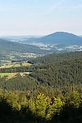 Landschaft Lamer Winkel, Bayerischer Wald, Bayern, Deutschland | landscape Lamer Winkel, Bavarian Forest, Bavaria, Germany