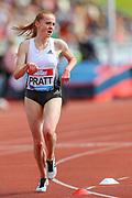 Aimee PRATT of Great Britain & NI in the Women's 3000m Steeplechase during the Muller Grand Prix at Alexander Stadium, Birmingham, United Kingdom on 18 August 2019.