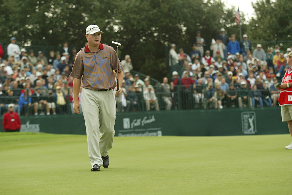 Chad Campbell.2003 Tour Championship.Third Round.Champions Golf Club.Houston, TX.November 8, 2003..photograph by Darren Carroll