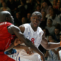 27 August 2011: Charles Kahudi is seen during the friendly game won 74-44 by France over Belgium, in Lievin, France.