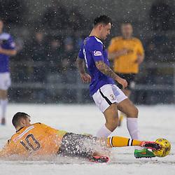 Annan v East Fife   Scottish League Two   16 January 2016