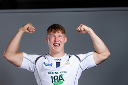 Ted Hill of Worcester Warriors - Mandatory by-line: Robbie Stephenson/JMP - 21/08/2019 - RUGBY - Sixways Stadium - Worcester, England - Worcester Warriors Media Day