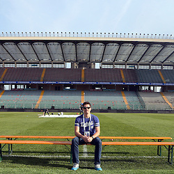 PADUA, ITALY - NOVEMBER 21:  during the South African national rugby team photograph and captains run at Stadio Euganeo on November 21, 2014 in Padua, Italy. (Photo by Steve Haag/Gallo Images)