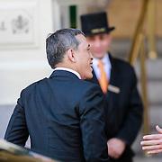 NLD/Amsterdam/20130429 - Inhuldiging Koning Willem - Alexander, aankomst kroonprins van Thailand Maha Vajiralongkorn