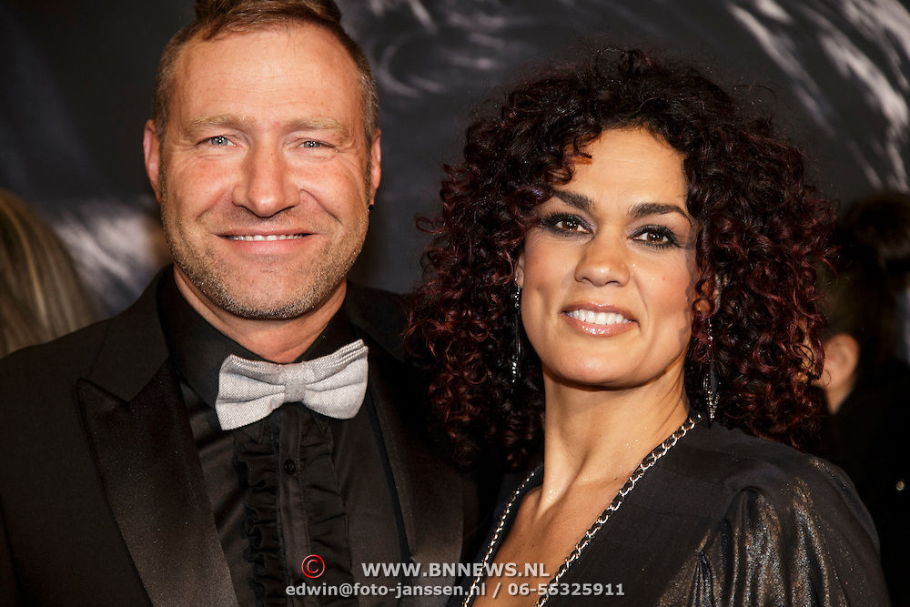 NLD/Amsterdam/20150211 - Premiere Fifty Shades of Grey, Chimene van Oosterhout en ...........