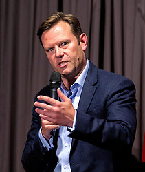 Bristol Sport Chief Operating Officer Mark Ashton takes questions from the floor during the Lansdown Club event- Mandatory by-line: Robbie Stephenson/JMP - 06/09/2016 - GENERAL SPORT - Ashton Gate - Bristol, England - Lansdown Club -