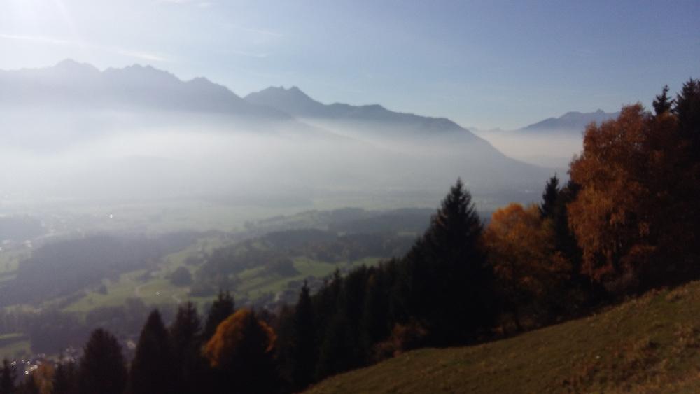 Tirol Austria alps in autumn