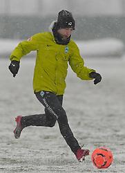 16.12.2010, Trainingsgelaende Werder Bremen, Bremen, GER, 1.FBL, Training Werder Bremen, im Bild Marko Marin (Bremen #10)   EXPA Pictures © 2010, PhotoCredit: EXPA/ nph/  Frisch       ****** out ouf GER ******