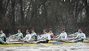 London, Great Britain, Cambridge, Listo left to right, Ben RUBLE, Henry HOFFSHOT, Vincent BERTRAM and Clemens AUERSPERG, during  the BNY Mellon, 2016 University Men's Boat Race, Trail Eights Race.  Putney to Mortlake. ENGLAND. <br /> <br /> Sunday 13.12.2015<br /> <br /> [Mandatory Credit; Peter Spurrier/Intersport-images]<br /> <br /> CUBC Trial VIII's between FUERTE on Surrey and LISTO on Middlesex<br /> <br /> FUERTE, Bow, Peter Carey, 2, Patrick Elwood, 3, Alister Taylor, 4, Peter Rees, 5, Charlie Fisher, 6, Ali Abbasi, 7, Luke Juckett, Stroke, Lance Tredell, Cox, Ian Middleton<br /> <br /> LISTO, Bow, Piers Kasas, Felix Newman, 3, Sam Ringer, 4, Joe Carroll, 5, Clemens Auersperg, 6, Vincent Bertram, 7, Henry Hoffstot, Stroke, Ben Ruble, Cox, Hugo Ramambason
