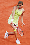 Roland Garros. Paris, France. June 4th 2006..Amelie Mauresmo against Nicole Vaidisova.