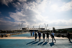 A general view outside the stadium before the game - Photo mandatory by-line: Rogan Thomson/JMP - 07966 386802 - 21/08/2014 - SPORT - FOOTBALL - Manchester, England - Etihad Stadium - Manchester City v Chelsea FC - Barclays Premier League.