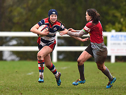 Merryn Doidge of Bristol Ladies - Mandatory by-line: Paul Knight/JMP - 03/02/2018 - RUGBY - Cleve RFC - Bristol, England - Bristol Ladies v Harlequins Ladies - Tyrrells Premier 15s