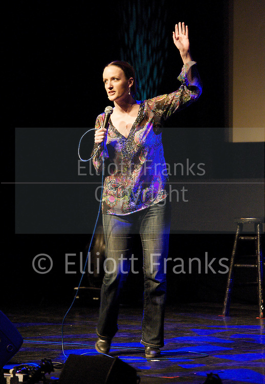 Sex Appeal - <br /> &quot;More sex please we're British!&quot; <br /> a Comedy fundraising event in aid of Brook at the Bloomsbury Theatre, London, Great Britain <br /> 13th January 2012<br /> <br /> Kate Smurthwaite<br /> <br /> Photograph by Elliott Franks